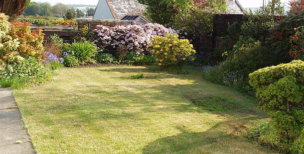 The Spinney Holiday Cottage Garden